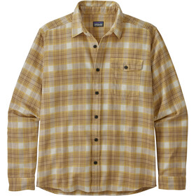Patagonia LW Fjord Flannel Shirt Herre grange/surfboard yellow